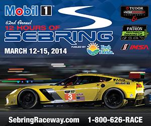 2014 USCR Sebring event poster image