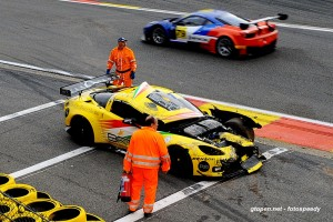 # 6 - 2014, GT Open  SRT damaged, win race 2 at Spa 03